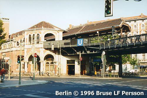 Berlin, Tyskland: tunnelbana