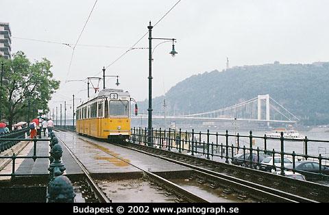 Budapest, Ungern: spårväg