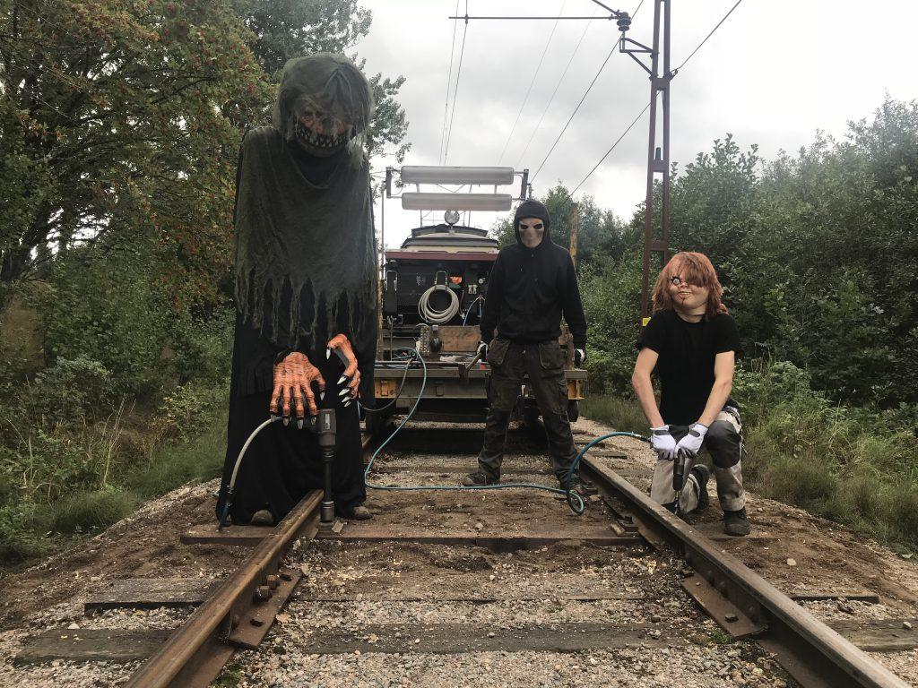 Halloweenspårväg 2020